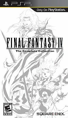 Final Fantasy IV The Complete Collection - Sony PSP, New, Free Shipping