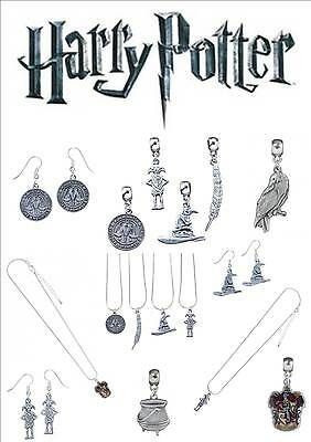 Official Harry Potter Jewellery Necklaces Charms Earrings Bracelets  & Gift Sets