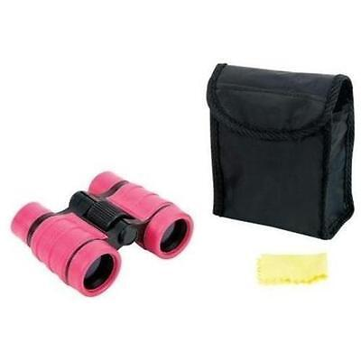 Pink Compact 4x30 Binoculars Great for Hunting, Camping, Bird Watching, Outdoors