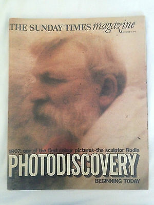 Sunday Times Magazine, Sept 24th 1978 Photodiscovery, Conran, Terence Stamp,
