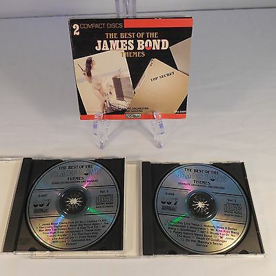 James Bond Themes 2 disc Starlight Orchestra and singers Canada