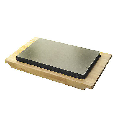 Typhoon Hot Stone and Bamboo Serving Set - Steak Hot Plate