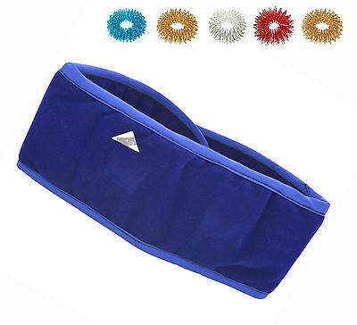 Acu Magnetic Pyramid Therapy Thyroid Neck Belt -Thyroid Throat Tonsillitis Cough