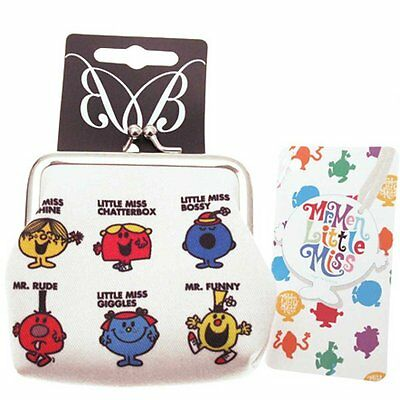 Genuine Mr Men and Little Miss 'Poster' Coin Purse Brand New