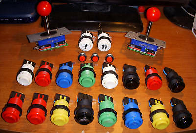 Kit de Joysticks y 24 botones para tu recreativa Jamma