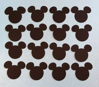 "Mickey Mouse EARS HEAD Set of 12  5"" H Party invitations & Decoration"