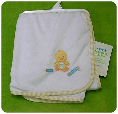 New/NWT~CARTERS~LITTLE DUCKIE DUCK~SECURITY BLANKET~MULTI-PURPOSE~boys girls~HTF