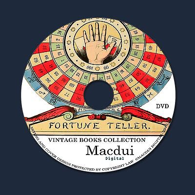 Fortune Telling, Tarot, Tea Leaves, Palm Reading, Mystics 18 PDF E-Books 1 DVD