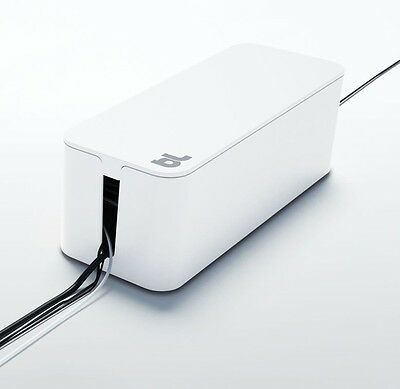 Blue Lounge Design CB-01-WH CableBox Cable Management System - White - New!