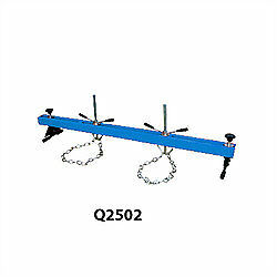 ENGINE SUPPORT BEAM 500 KG with 2 x ADJUSTABLE HOOKS NEW, @ DTM TRADING