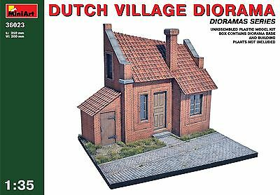 Dutch Village Diorama 1/35 Miniart 36023