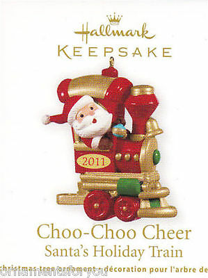 Hallmark 2011 Choo Choo Cheer Santa's Holiday Train Miniature