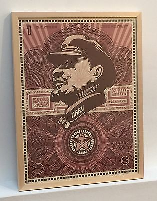 Shepard Fairey - Lenin Money - Limited to 350 - signed & numbered - Obey