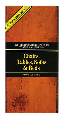 Chairs, Tables, Sofas, and Beds by Marvin D. Schwartz (1982, Paperback)