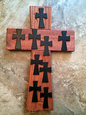 WaLL CRoSS WooDeN ReCLaiMeD WooD WeSTeRN RuSTiC RaNcH RuSTiC OLd WoRLd IRoN