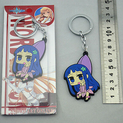 """Sword Art Online YUI Anime Characters 2.5"""" Key Chain NEW & HOT"""