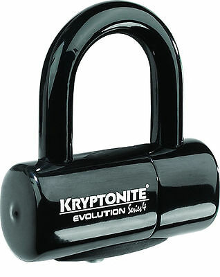 Kryptonite Mx Evolution Series 4 Motocross Dirt Bike Security Black Disc Lock
