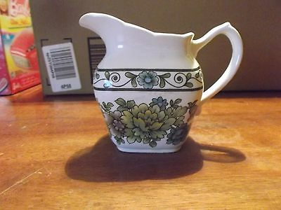 "Grindley Transferware Sandringham  Creamer 4"" high at Spout-5"" Spout to Handle"