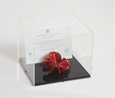 Large Tower Of London Poppy Display Case - POPPY NOT INCLUDED