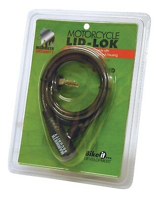 New Mammoth Motorcycle Lid-Lock Helmet Lock