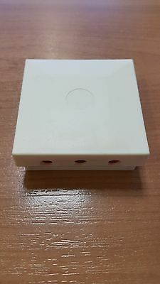 BT16A External Cable Connection Joint Box CREAM 16a + 2 x 2 Wire Jelly Crimps