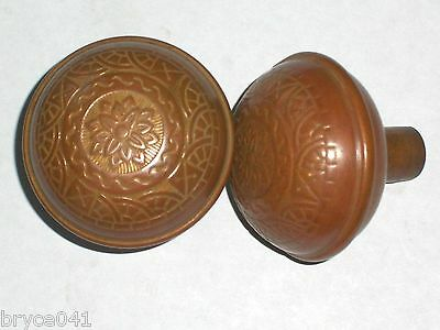 Antique Eastlake Reading & Co. Door Knobs C. 1890