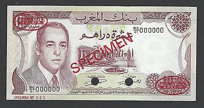 Morocco 10 Dirhams ND 1970-1985 Proof  Specimen TDL Uncirculated Rare