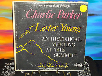 Charlie Parker And Lester Young - An Historic Meeting At The Summit - Vinyl LP