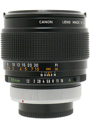 Canon FD 85mm F1.2 S.S.C ASPHERICAL
