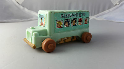 The Flintstones Bedrock RTD Blue Bus