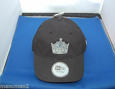 New Era Womans La Kings  Hockey Baseball  Cap One Size Fits All