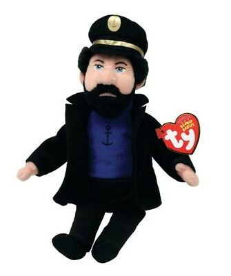 Ty Beanie Babies Captain Haddock From The Advenutres Of Tintin Brand New
