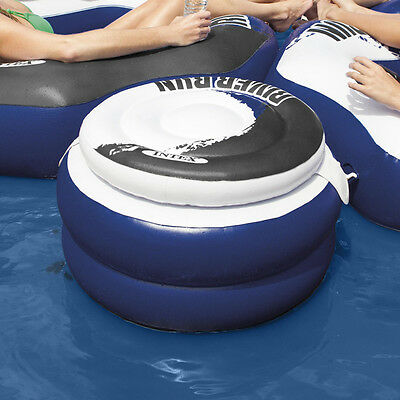 INTEX River Run Connect Cooler 57cm Ø aufblasbar Hocker Verbindungsstück