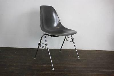 EAMES DSS CHAIR HERMAN MILLER STACKING BASE 50s 60s ELEPHANT HIDE GREY