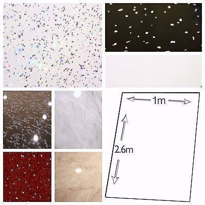 1m x 2.6m BATH SHOWER Shower Wall Panels Bathroom Plastic UPVC PVC CLADDING