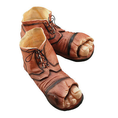 #rubber Tramp Boots Shoes Adult One Size Fancy Dress Outfit Accessory