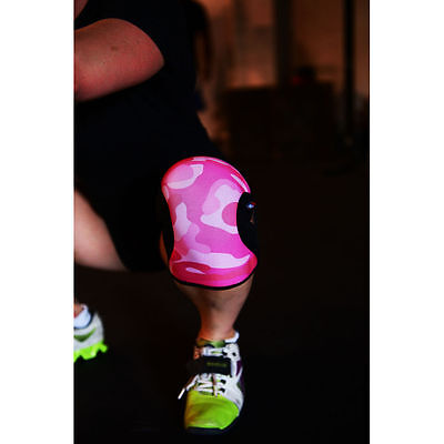 RockTape CrossFit Pink Camo Knee Caps Support 5mm Weightlifting Powerlifting