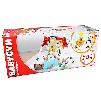 Redbox B237K Baby Activity Play Gym Center Spielbogen mit Musik