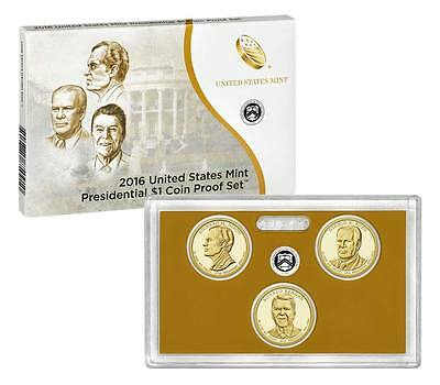 2016-Presidential Proof Set Complete W/Box And COA Mint Fresh Set Nice Set