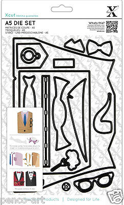 Xcut 16 piece A5 sheet die set suit card metal dies Use X cut Sizzix eBosser etc