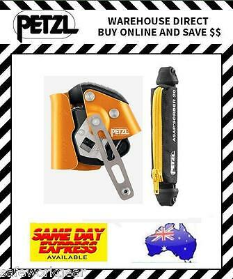 Petzl ASAP LOCK + 20cm ASAPsorber Mobile Fall Arrest Device Climbing (B71AL,20)