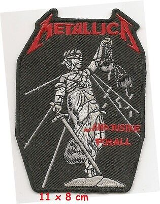 Metallica  -  justice patch - FREE SHIPPING