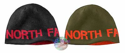 New The North Face Banner Reversible TNF Cap Knit Hat Beanie