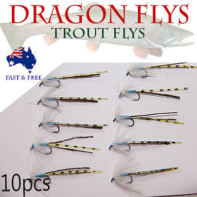 Dragonfly Flies Fly Fishing Lures Saltwater Flies Shrimps Bugs BASS BREAM tackle