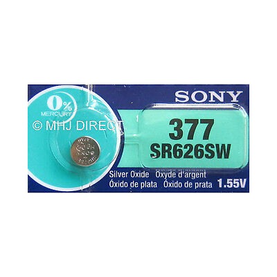 SONY 377 SR626SW AG4 Silver Oxide Watch Batteries SELECT 1 2 3 4 5 & 10 x QTY