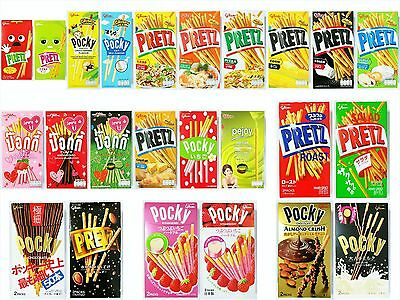 glico Pretz Pocky Biscuit Sticks Various Flavor