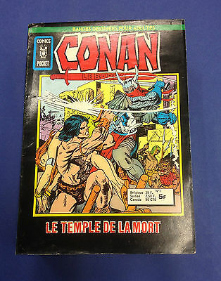 CONAN n°1 à 7 collection Comics Pocket