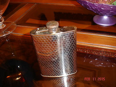 STAINLES STEEL 8 OZ FLASK SILVER TONE