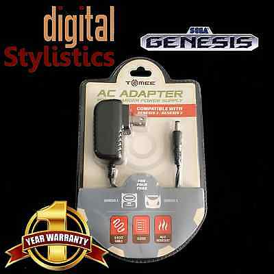 AC Adapter Power Supply for Sega Genesis 2/3 Game Gear 32X Nomad (NEW NIB) 2 3
