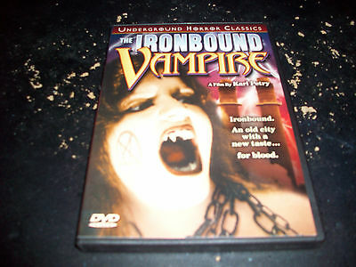 CLASSIC HORROR: IRONBOUND VAMPIRE!! USED & IN EXCELLENT CONDITION!!